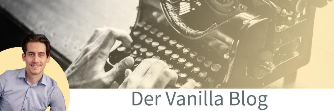 Der Vanilla Blog